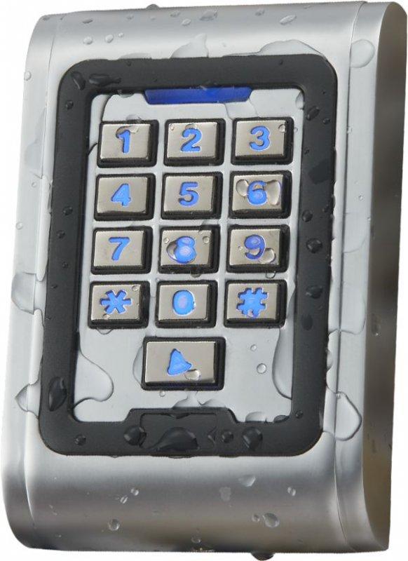Dispozitiv de acces stand alone cu actionare prin cartela de proximitate sau cod ECK-06A