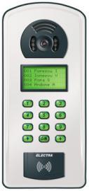 Interfon ELECTRA - Panou de apel semiduplex cu cititor de proximitate ELECTRA