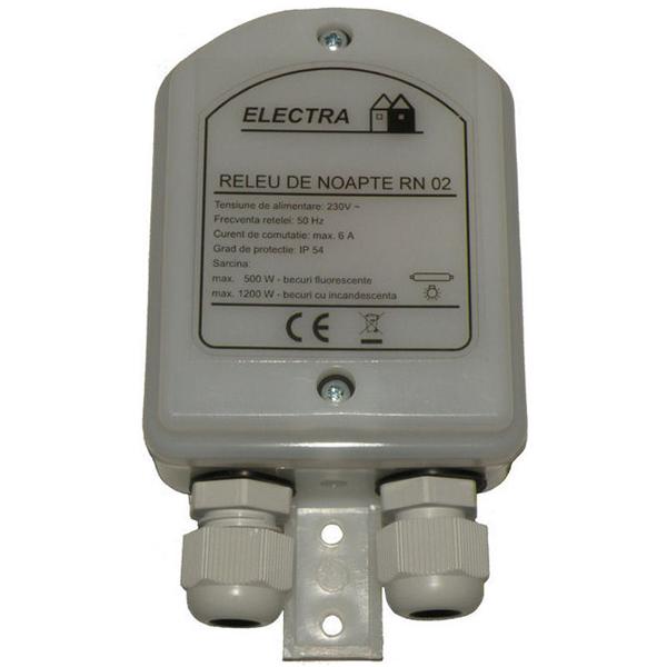 Senzor de noapte crepuscular | Releu de noapte RN 02 Electra