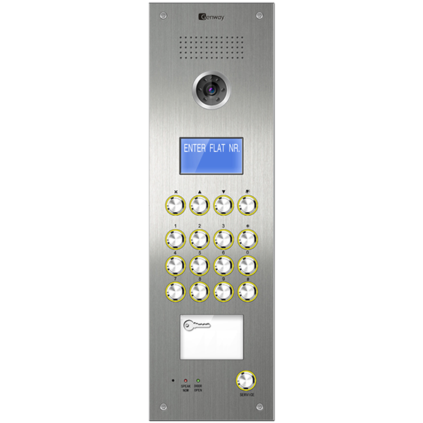 Panou videointerfon Genway C5 2608D