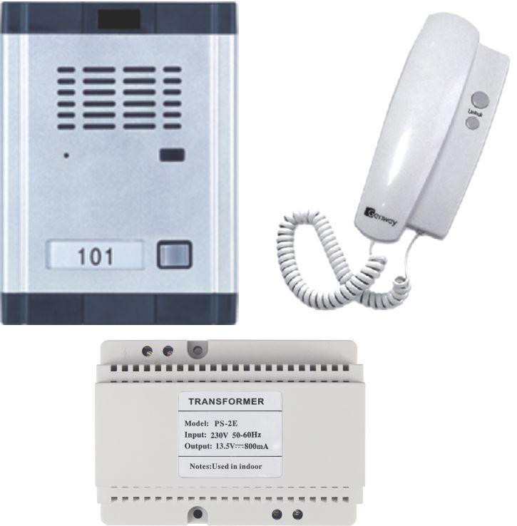 Kit interfon audio pentru vila Genway WL-06Dd2D