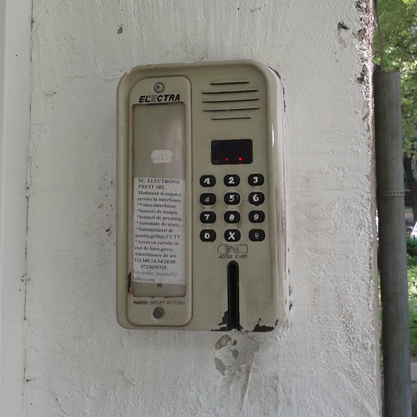 Instalare interfoane